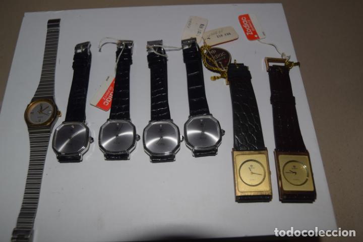 Vintage: 48 relojes resto de tienda - Foto 8 - 244875555