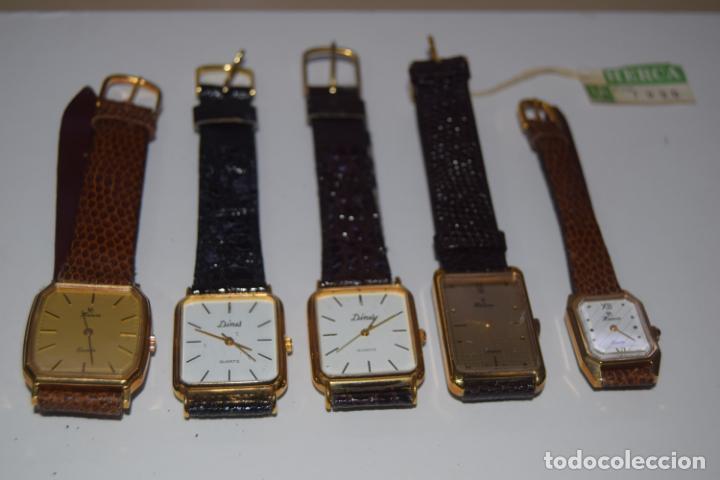 Vintage: 48 relojes resto de tienda - Foto 12 - 244875555