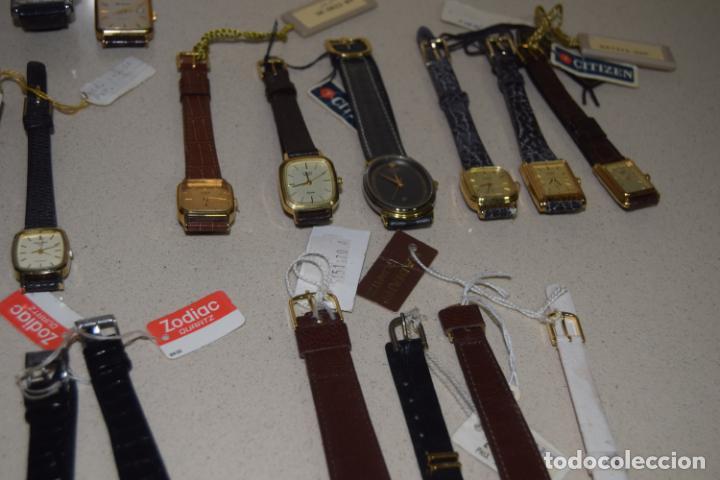 Vintage: 48 relojes resto de tienda - Foto 16 - 244875555