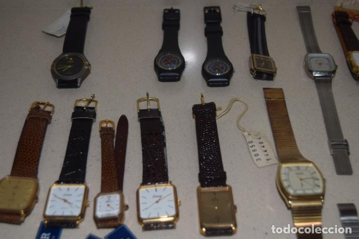 Vintage: 48 relojes resto de tienda - Foto 18 - 244875555