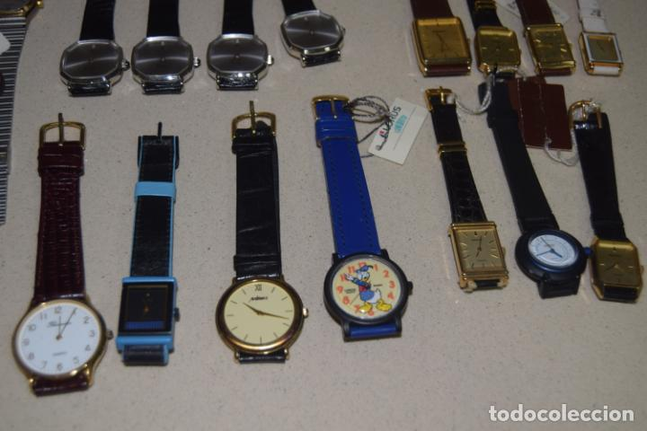 Vintage: 48 relojes resto de tienda - Foto 20 - 244875555