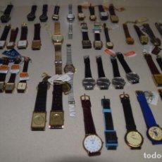 Vintage: 48 RELOJES RESTO DE TIENDA. Lote 244875555