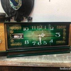 Vintage: RELOJ DESPERTADOR VINTAGE TOKYO CLOCK - MEDIDA 40X15X7 CM. Lote 245016525