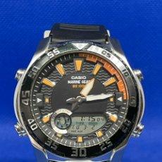 Vintage: RELOJ CASIO MARINE GEAR AMW-710. Lote 245303150