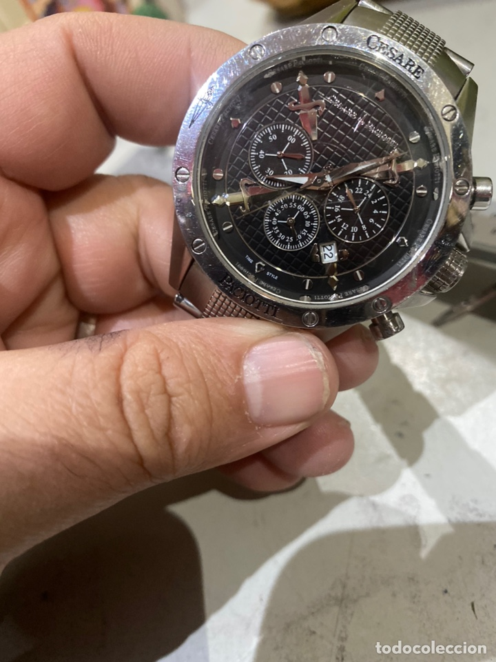 Vintage: Reloj cronógrafo cesare paciotti original - Foto 21 - 245519555