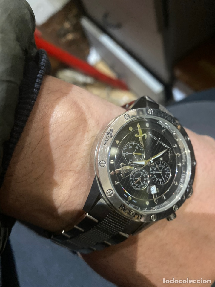 RELOJ CRONÓGRAFO CESARE PACIOTTI ORIGINAL (Relojes - Relojes Vintage )