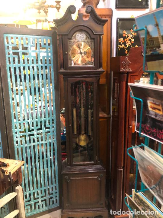 ANTIGUO RELOJ CARRILLON TEMPUS FUGIT - FUNCIONANDO (Relojes - Relojes Vintage )