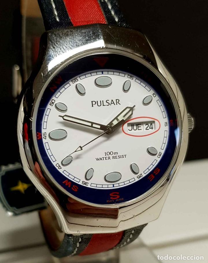 RELOJ PULSAR -10 ATM- VINTAGE, NOS (NEW OLD STOCK) (Relojes - Relojes Vintage )