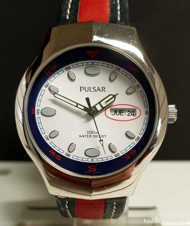 Vintage: Reloj PULSAR -10 atm- Vintage, NOS (New Old Stock) - Foto 2 - 251875050