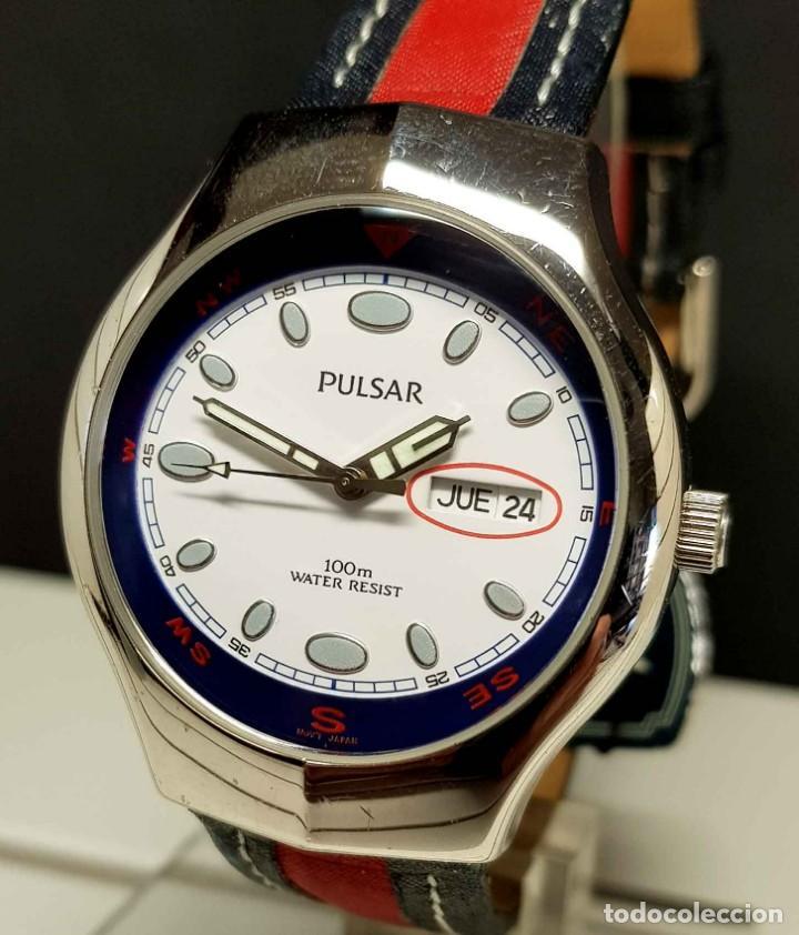 Vintage: Reloj PULSAR -10 atm- Vintage, NOS (New Old Stock) - Foto 3 - 251875050