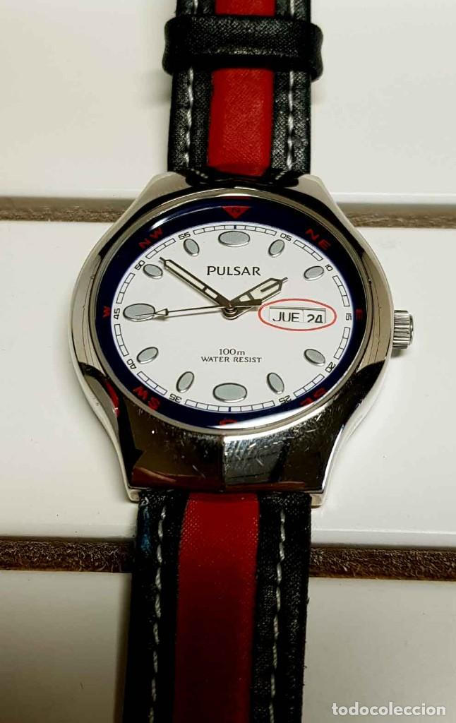 Vintage: Reloj PULSAR -10 atm- Vintage, NOS (New Old Stock) - Foto 6 - 251875050