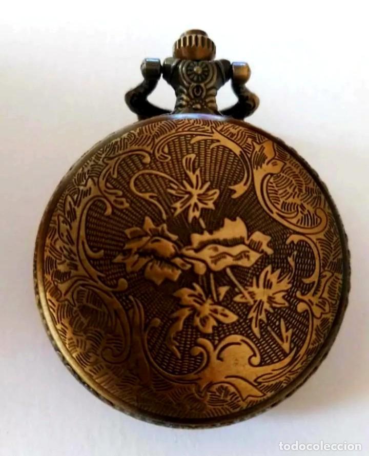 Vintage: Reloj de bolsillo con colgante Vintage Iron Man - Foto 3 - 252240610
