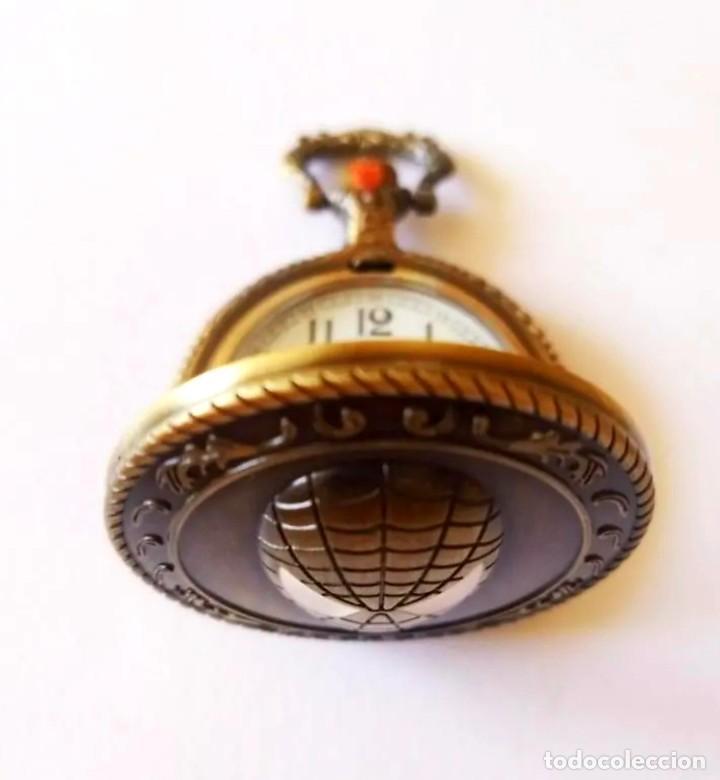 Vintage: Reloj de bolsillo con colgante Vintage Iron Man - Foto 4 - 252240610