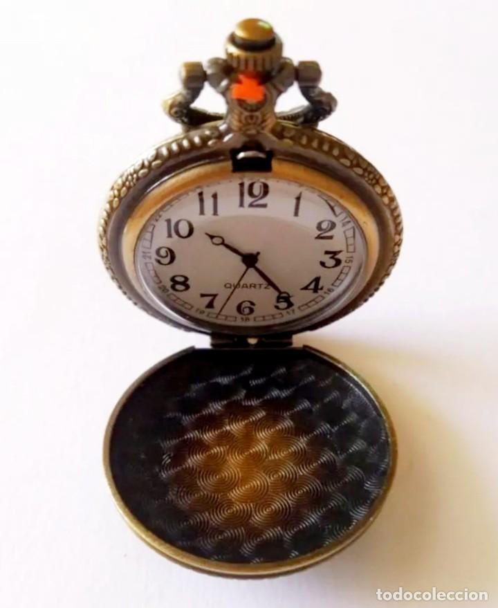 Vintage: Reloj de bolsillo con colgante Vintage Iron Man - Foto 6 - 252240610
