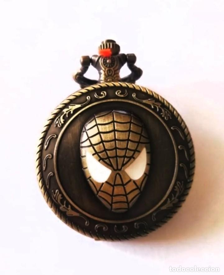 RELOJ DE BOLSILLO CON COLGANTE VINTAGE IRON MAN (Relojes - Relojes Vintage )