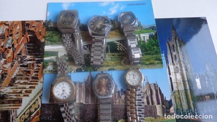 LOTE 6 RELOJES DE MUJER (Relojes - Relojes Vintage )