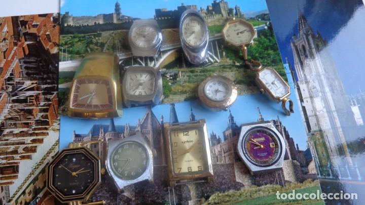 LOTE RELOJES DE MUJER SIN CORREA Y SIN FUNCIONAMIENTO (Relojes - Relojes Vintage )