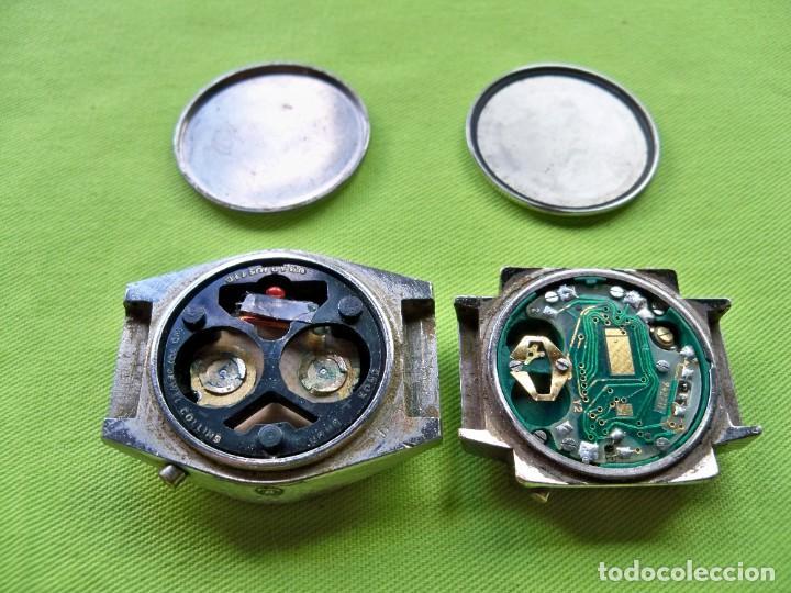 Vintage: Dos antiguos relojes digitales de pilas - Foto 2 - 252485490