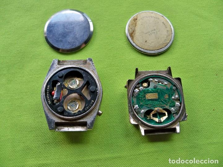 Vintage: Dos antiguos relojes digitales de pilas - Foto 4 - 252485490