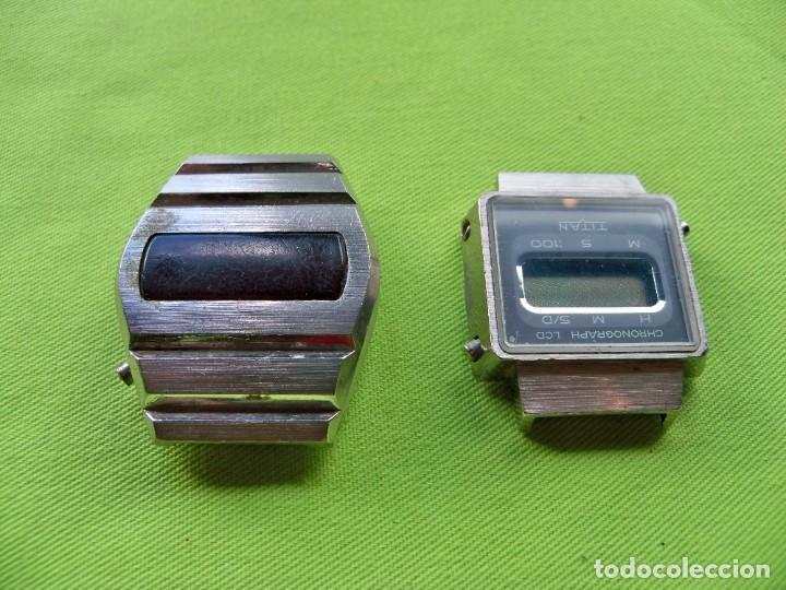 Vintage: Dos antiguos relojes digitales de pilas - Foto 6 - 252485490