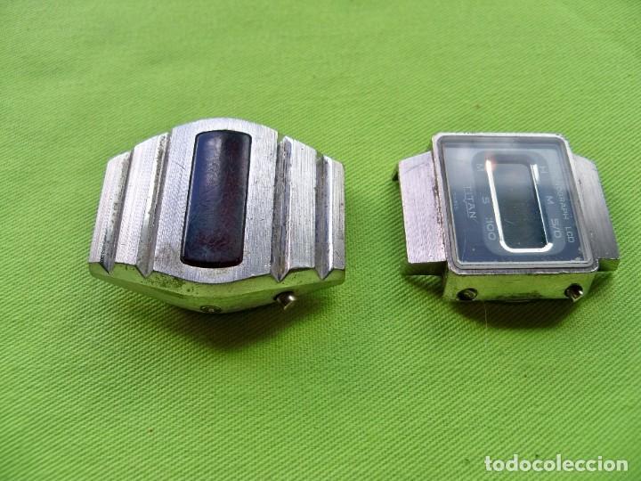 Vintage: Dos antiguos relojes digitales de pilas - Foto 7 - 252485490