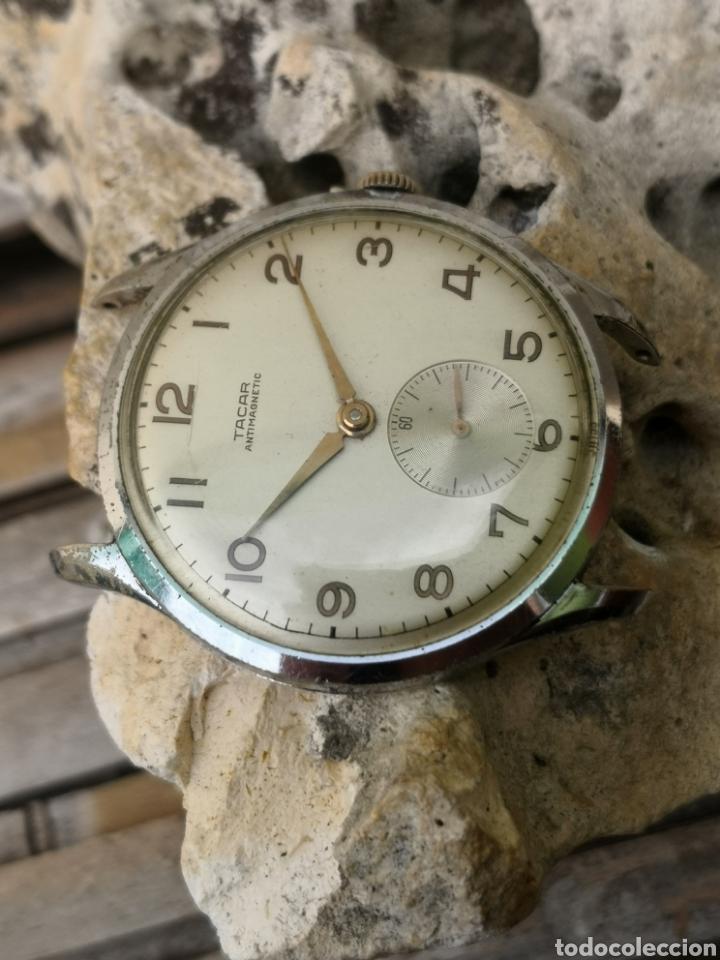 ⭐C3/1 RELOJ VINTAGE TACAR 38MM NO FUNCIONA (Relojes - Relojes Vintage )