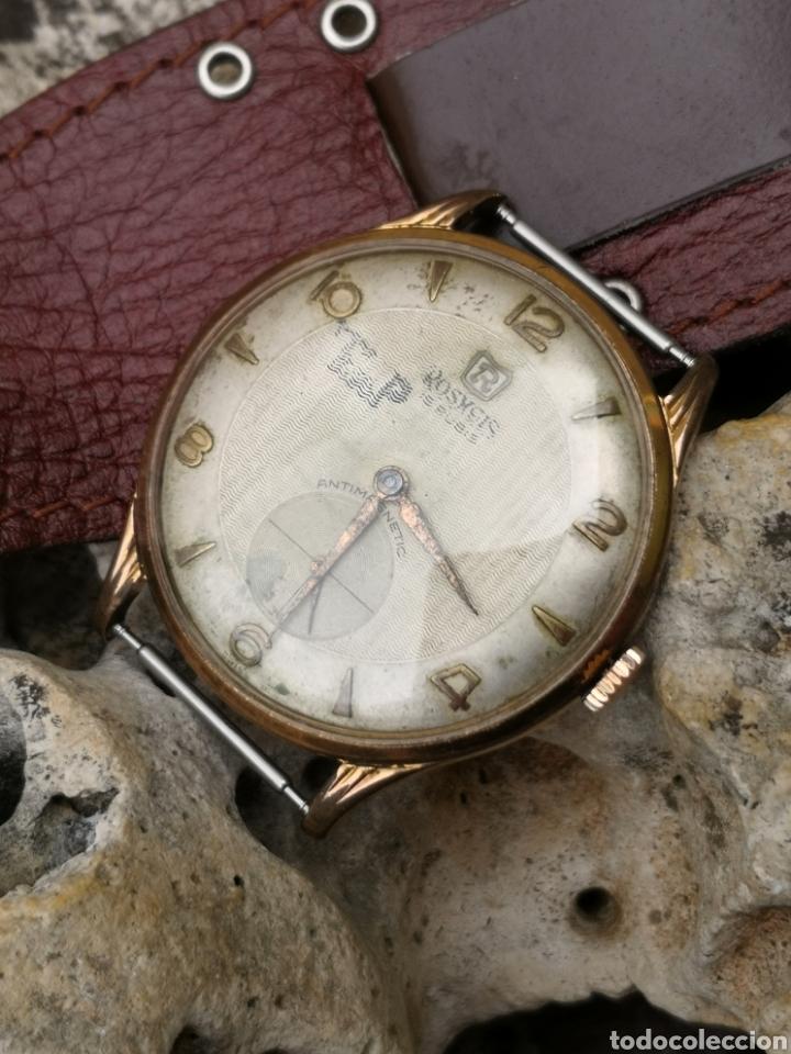 ⭐C3/1 RELOJ VINTAGE ROSHGIS 38, 5 MM REPARADO (Relojes - Relojes Vintage )