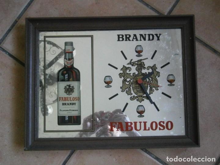 RELOJ ESPEJO DE BRANDY FABULOSO (SIN PROBAR) (Relojes - Relojes Vintage )
