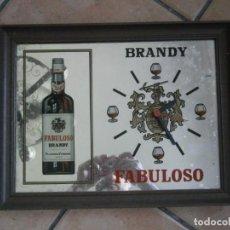 Vintage: RELOJ ESPEJO DE BRANDY FABULOSO (SIN PROBAR). Lote 252747495