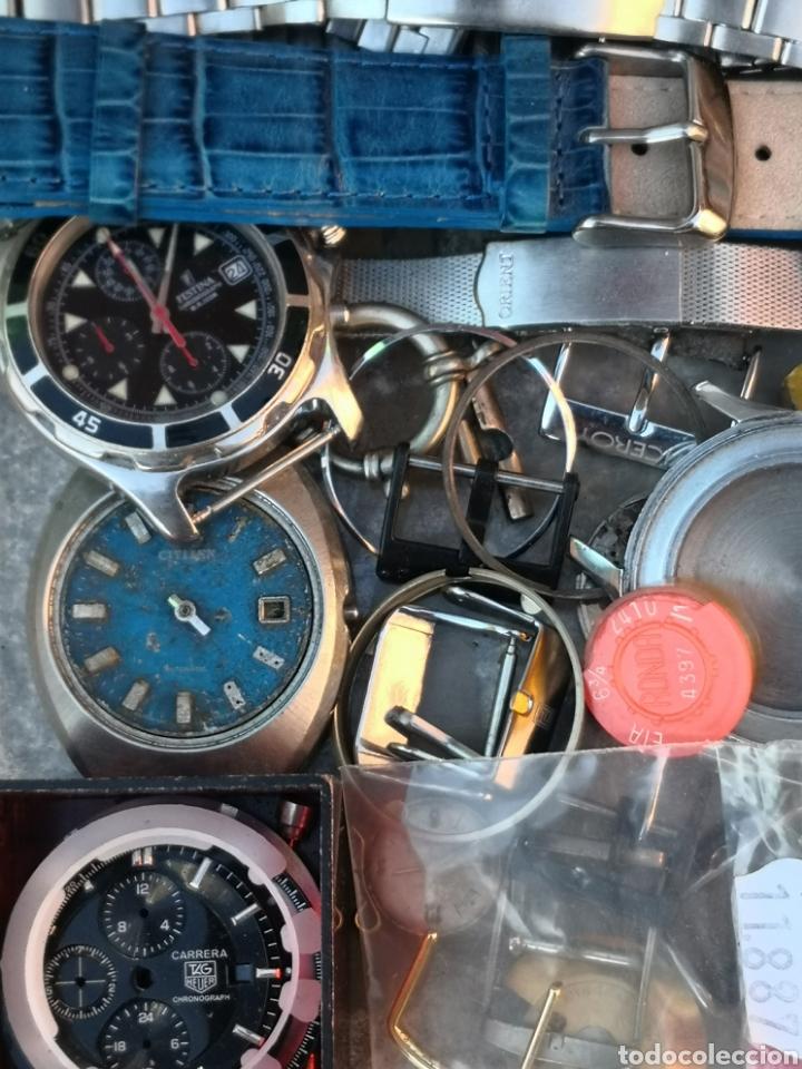 Vintage: ⭐C5/1 Caja Relojes PIEZAS Varios Coleccionistas - Foto 4 - 252843305