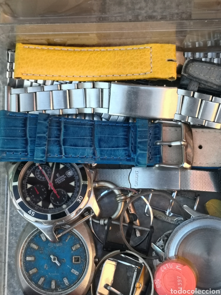 Vintage: ⭐C5/1 Caja Relojes PIEZAS Varios Coleccionistas - Foto 9 - 252843305