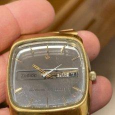 Vintage: RELOJ ZODIAC AUTOMÁTICO ESFERA ESPEJO. Lote 253858945