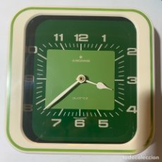Vintage: ANTIGUO RELOJ DE PARED RETRO VINTAGE AÑOS 70-80 JUNGHANS QUARTZ MADE IN GERMANY. Lote 254031375