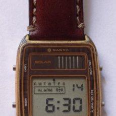 Vintage: RELOJ SANYO QUARTZ SOLAR MADE IN JAPAN. Lote 254198640