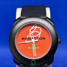 Vintage: RELOJ BENETTON BY BULOVA ANTIGUO STOCK. Lote 254278635