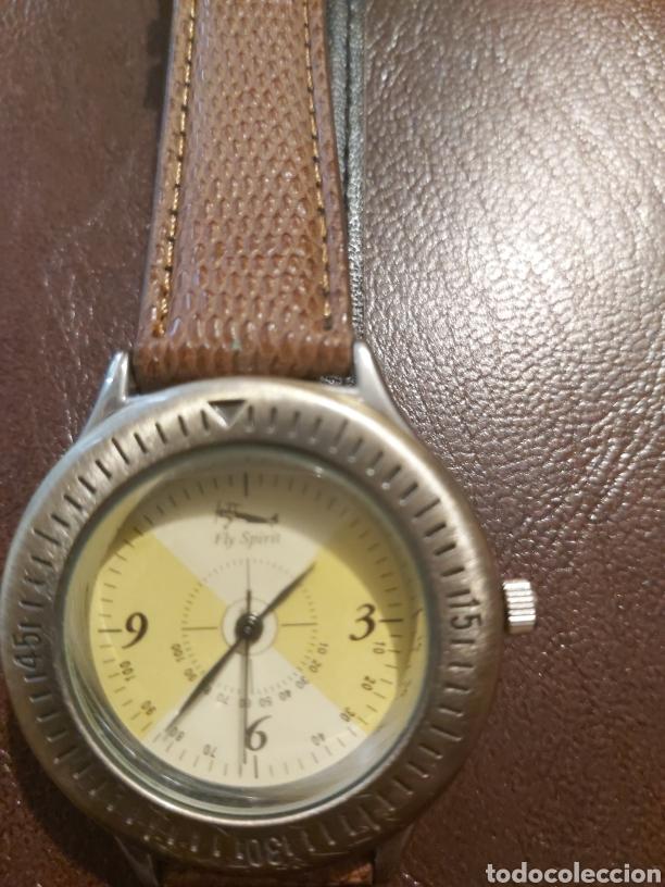 Vintage: Reloj FLY SPIRIT de quarzo mide 4 cm. como Nuevo. - Foto 3 - 254310920