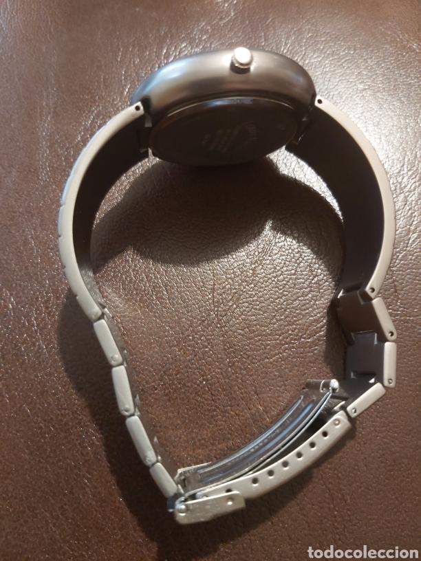 Vintage: Reloj de pulsera de caballero marca Louis Valentín, esfera en azul cobalto - Foto 2 - 254313220