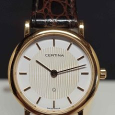 Vintage: RELOJ CERTINA, SWISS MADE- CRISTAL ZAFIRO, VINTAGE, NOS (NEW OLD STOCK). Lote 254768975