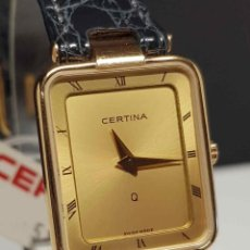 Vintage: RELOJ CERTINA, SWISS MADE- CRISTAL ZAFIRO, VINTAGE, NOS (NEW OLD STOCK). Lote 254773120