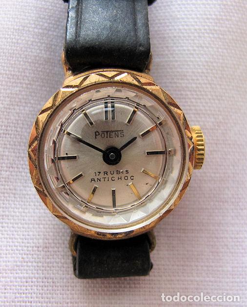 RELOJ DE CUERDA VINTAGE DAMA POTENS NOS (Relojes - Relojes Vintage )
