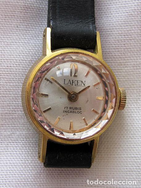 RELOJ DE CUERDA VINTAGE NOS LAKEN (Relojes - Relojes Vintage )
