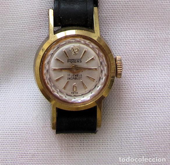 RELOJ DE CUERDA DAMA VINTAGE PONTENS NOS (Relojes - Relojes Vintage )