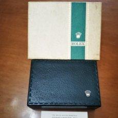 Vintage: ROLEX SUBMARINER 5513. SET 60 Y 70. CAJA Y FOLLETO. GREEN STRIPE BOX. Lote 258087305