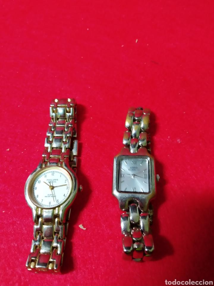 Vintage: Lote de dos relojes ,diferentes modelos y marcas,vintage de época - Foto 8 - 262404705
