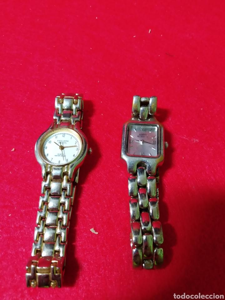 LOTE DE DOS RELOJES ,DIFERENTES MODELOS Y MARCAS,VINTAGE DE ÉPOCA (Relojes - Relojes Vintage )