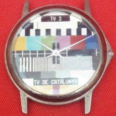 Vintage: RELOJ TV3, TV DE CATALUNYA, MARCA SAINT DENIS PARIS AÑOS 80. Lote 262459125