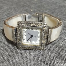 Vintage: PRECIOSO RELOJ PLATA DE LEY Y NACAR. Lote 262514140