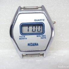 Vintage: VINTAGE LCD DE 1980 MEDANA ESPECIAL COLECCION AÑORABLE ENCANTADOR LOTE WATCHE. Lote 263053780