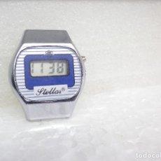 Vintage: BONITO VINTAGE LCD STELLAR AÑO 1980 AÑORABLE BUEN ESTADO FUNCIONA LOTE WATCHES. Lote 263086830