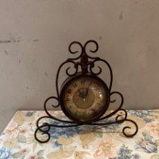 Vintage: AISSION WALL CLOCK RELOJ DE SOBREMESA MESA VINTAGE . RELOJ ANTIQUE ARTE DECOR. Lote 264232676